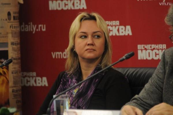 Шеф-редактор «Детской роман-газеты» Екатерина Рощина