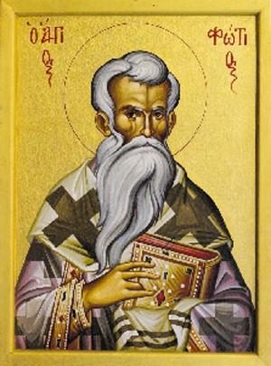 Интронизационное послание Патриарха Фотия папе Николаю