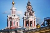 Колокольня Заиконоспасского монастыря у московского Кремля открылась после реставрации