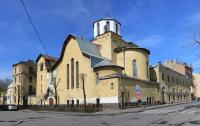 На фасаде церкви святителя Петра в Санкт-Петербурге восстановят изображения святых