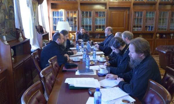Состоялось заседание рабочей группы по согласованию месяцеслова Русской Православной Церкви в Отечестве и за границей