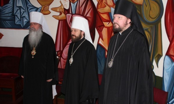 Митрополит Иларион: Примат и соборность с православной точки зрения