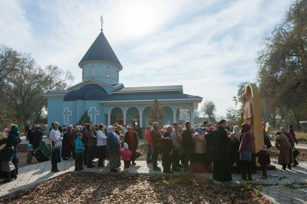 В Казахстане открыт памятник преподобномученице великой княгине Елисавете Феодоровне