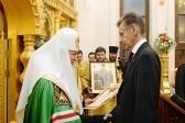 Патриарх Кирилл освятил храм при московской детской больнице имени Филатова