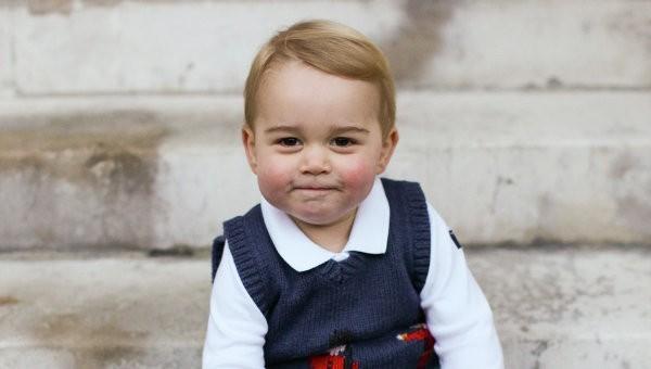 Принц Джордж не попал на Рождество в церковь из-за громкого голоса