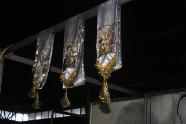 Серьезный пожар произошел на православной ярмарке в Тюмени