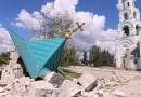 62 православных храма пострадали за время боевых действий в Донецкой области