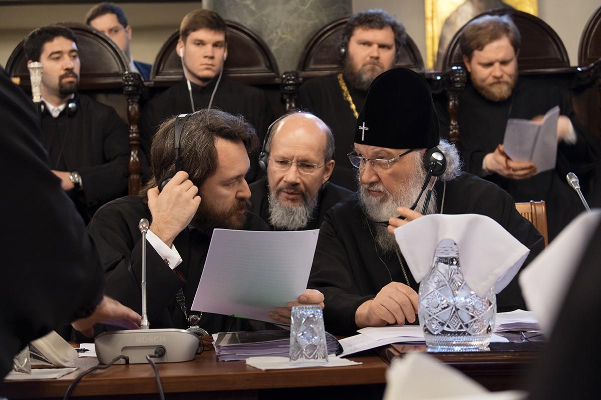 Визит в Константинопольский Патриархат. Третий день работы синаксиса Предстоятелей и представителей Поместных Православных Церквей