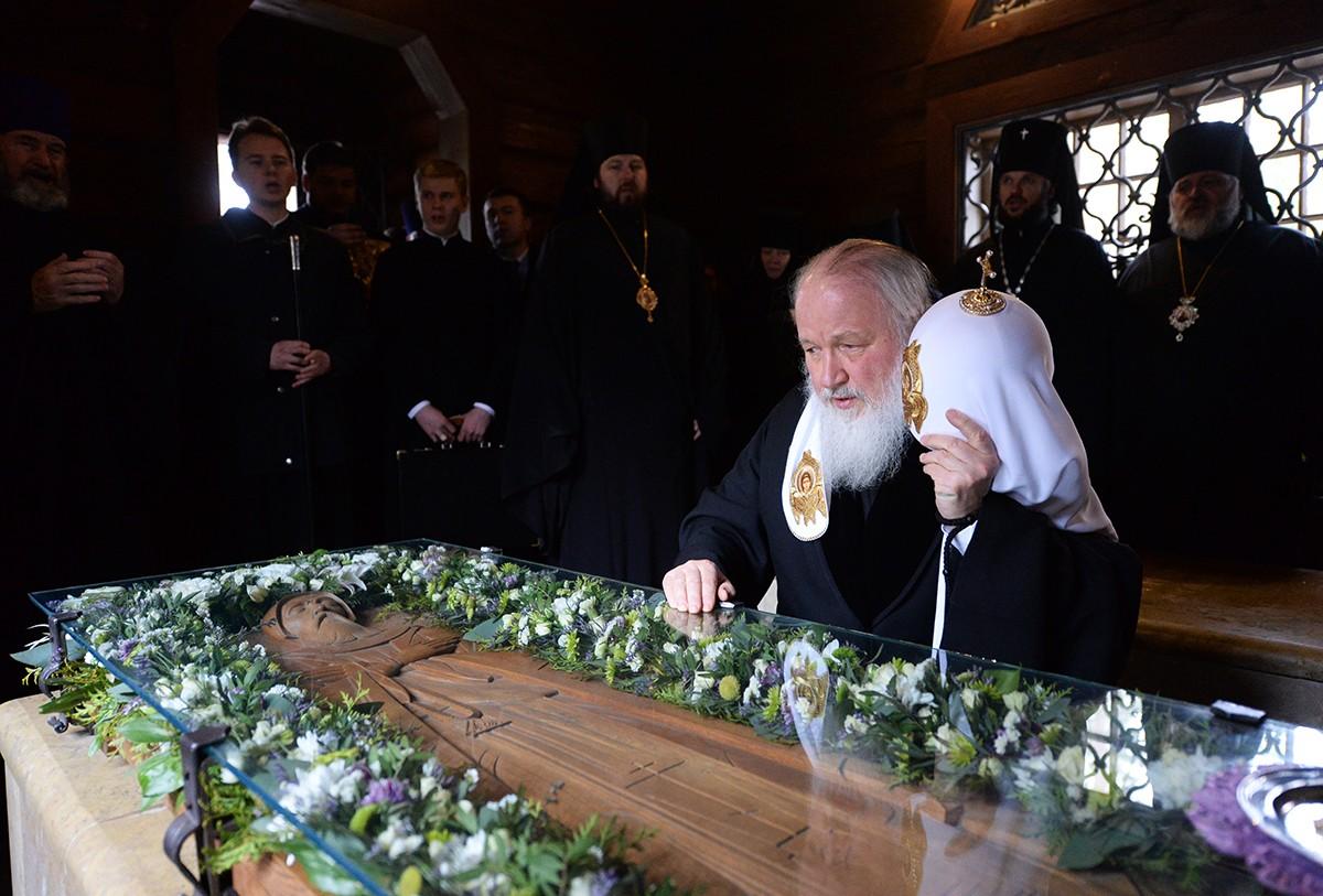 Патриарший визит в Санкт-Петербургскую митрополию. Вырица