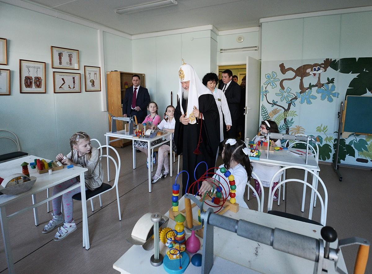 Посещение Центра детской психоневрологии г. Москвы