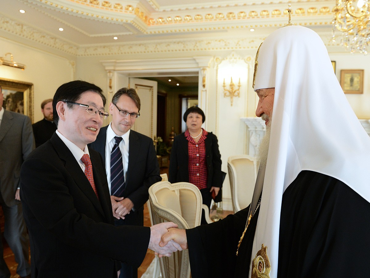 Встреча с руководителем Государственного управления КНР по делам религий