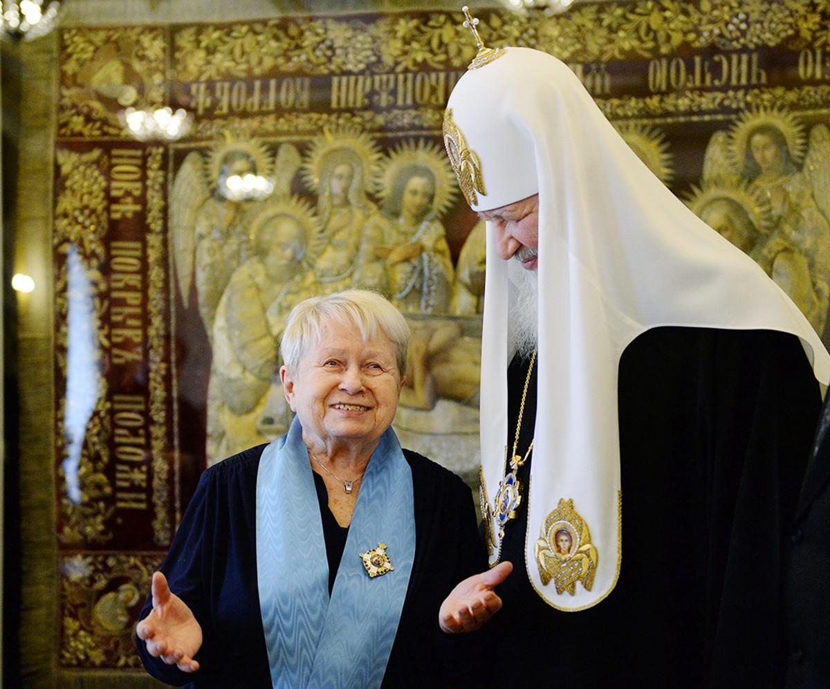 Встреча с композитором А.Н. Пахмутовой
