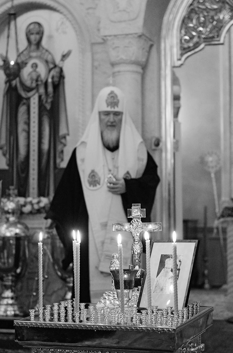 Лития в шестую годовщину кончины приснопамятного Патриарха Алексия II
