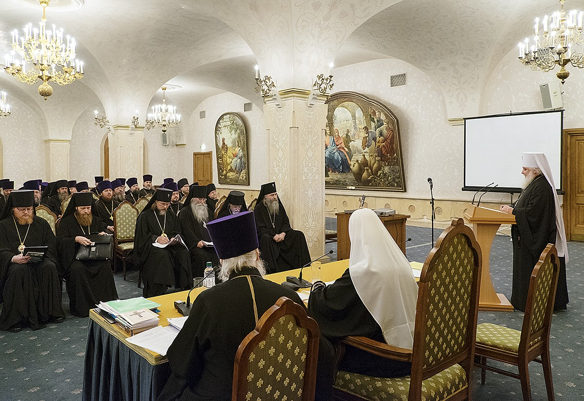 Заседание Епархиального совета г. Москвы
