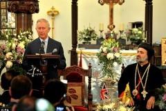 Принц Чарльз посетил храм Сирийской Церкви в Лондоне
