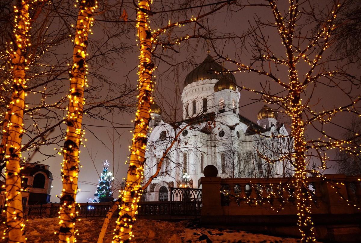 Патриаршее служение в праздник Рождества Христова