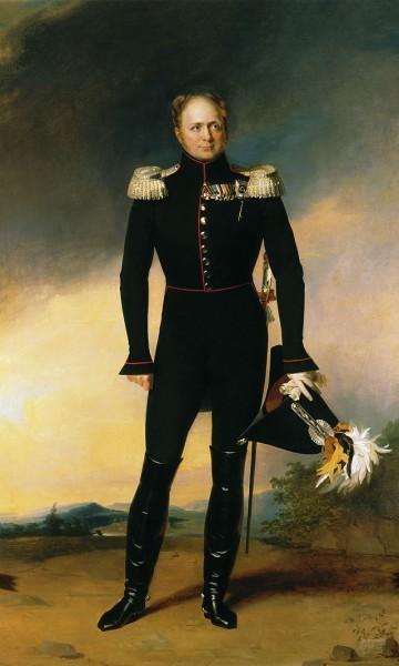 Портрет царя освободителя кисти Джорджа Доу