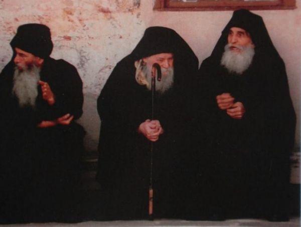 Старцы монастыря Великая Лавра преподобного Афанасия