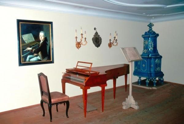 В музее Моцарта
