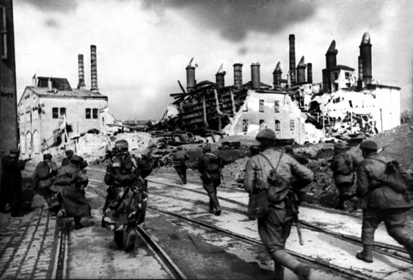 Освобождение Вены советскими войсками