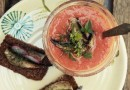 Русское гаспачо с рижскими шпротами: Постный видеорецепт Анны Людковской
