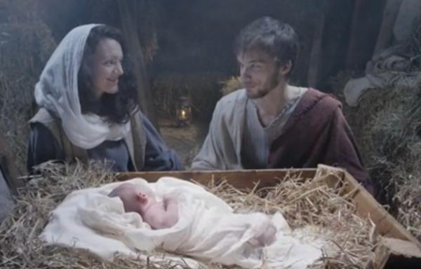 В Англии сняли видеоролик о Рождестве (+ВИДЕО)