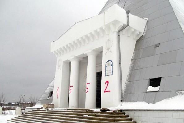 В Казани осквернен храм-памятник Спаса Нерукотворного