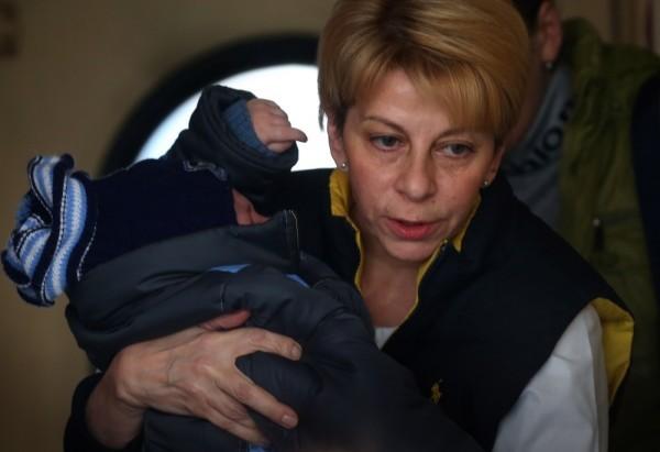 Доктор Лиза привезла в Москву очередную группу детей из Донецка