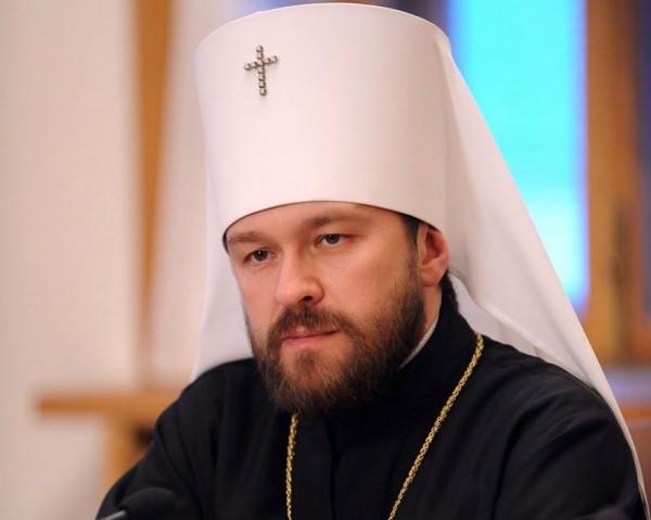 Митрополит Иларион: Мы должны сделать все от нас зависящее, чтобы помочь христианам Ближнего Востока