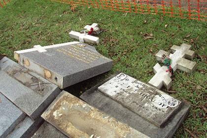 На православном кладбище в Австралии осквернено более 70 могил