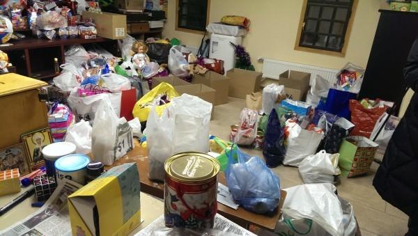 Подарки детям Донбасса, собранные в Новоспасском монастыре, доставлены адресатам