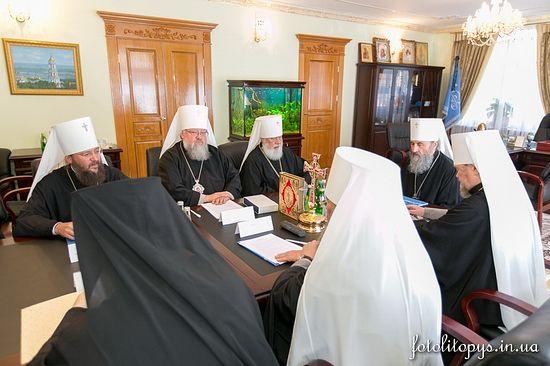 Журналы заседания Священного Синода Украинской Православной Церкви от 23 декабря 2014 года