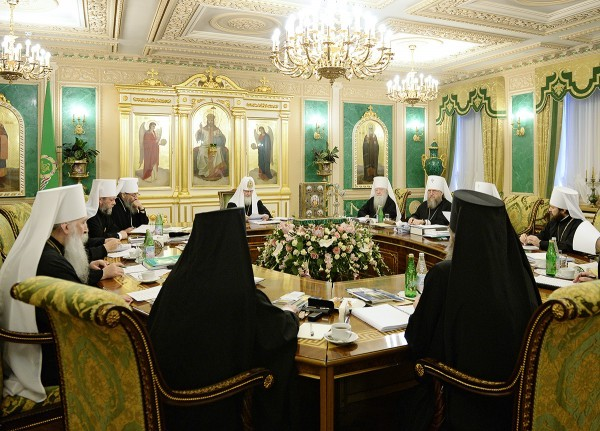 Священный Синод РПЦ одобрил решения, принятые Высшим церковным советом
