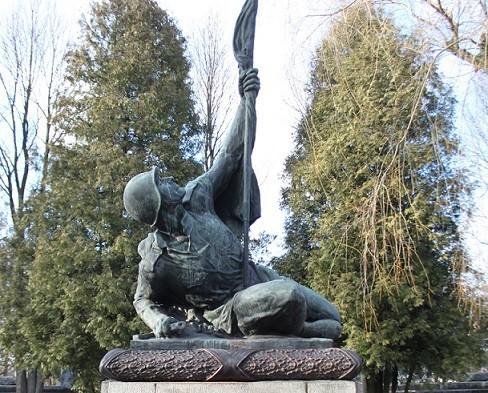 Во Львове восстановлены два памятника солдатам Первой и Второй мировых войн