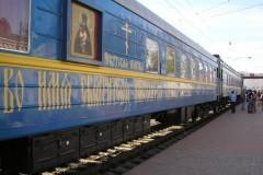 По Иркутской епархии в составе медпоезда «Академик Федор Углов» путешествует вагон-храм