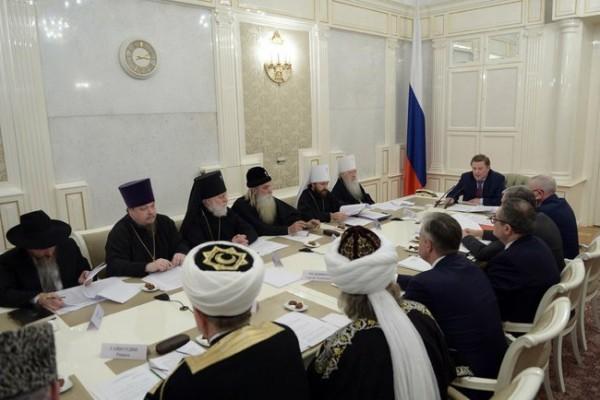Совет по взаимодействию с религиозными объединениями при Президенте РФ призывает остановить насилие