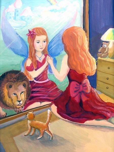 Белаш Юлия, 14 лет. Волшебное зеркало