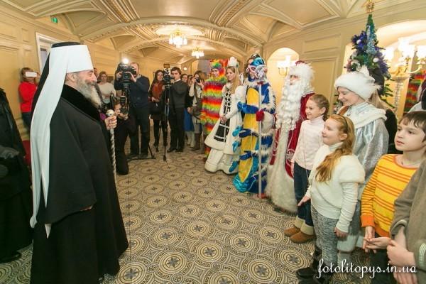 В Киеве состоялся детский благотворительный праздник «Рождественский вертеп-2015»