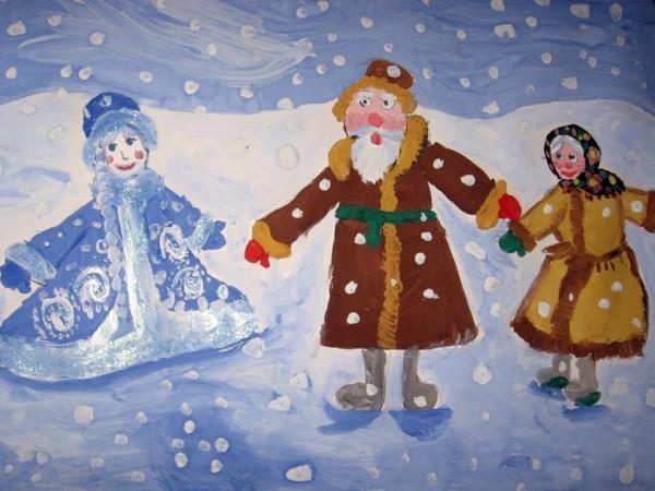 Полторакова Анна, 8 лет. Снегурочка