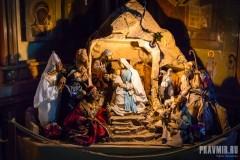 Вертепы в московских храмах