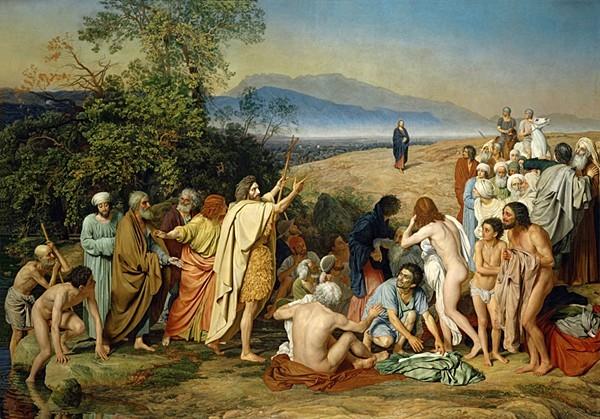 Картина «Явление Христа народу»