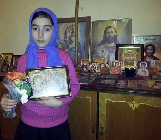 В Грузии девочка исцелилась благодаря чудотворной иконе «Умиление»