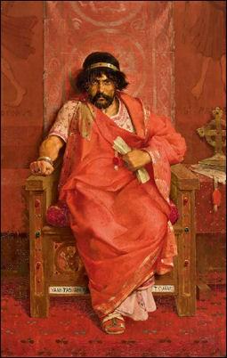Ирод царь на троне. Теофил Либерт