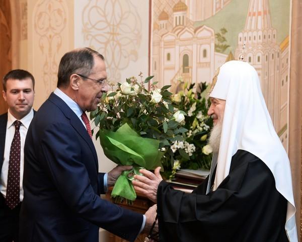 Состоялся торжественный прием по случаю шестой годовщины интронизации Святейшего Патриарха Кирилла