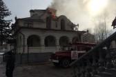 В Горловке артиллерийским снарядом частично разрушена трапезная кафедрального собора