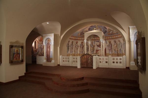 В Петербурге совершена Литургия с участием греческой общины