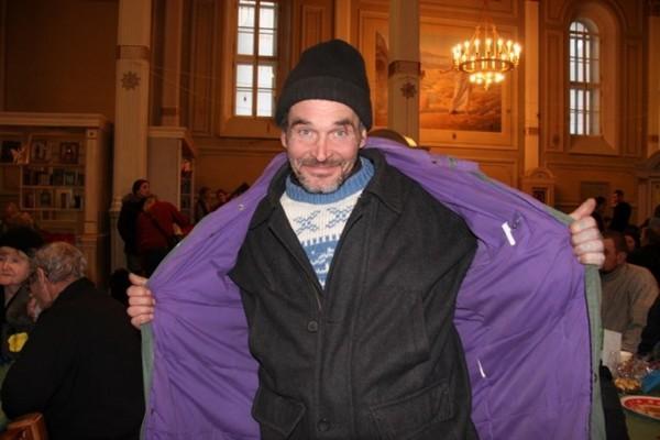 Как московские волонтеры и бедные вместе Рождество отмечали