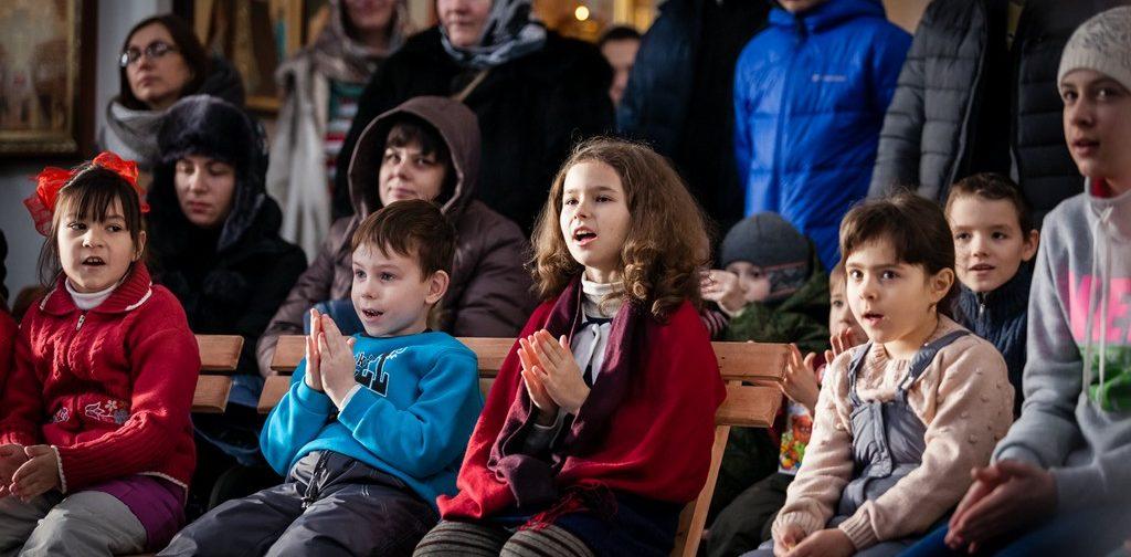 Ёлка для детей-беженцев в Москве (+ ФОТО)