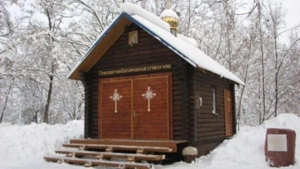 Вандалы в очередной раз подожгли храм в киевском заповеднике «Бабий Яр»