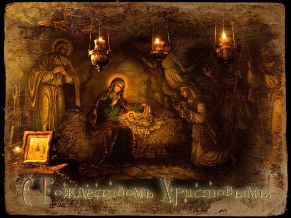 Рождество Христово. Видеоинсталляция